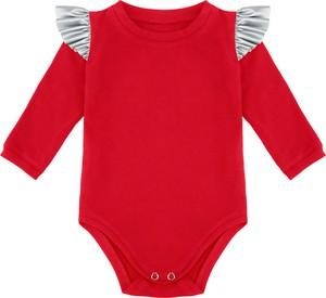 Body niemowlęce Elefunt dla dziewczynek z bawełny
