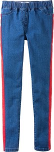 Niebieskie legginsy dziecięce bonprix John Baner JEANSWEAR
