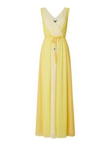 Sukienka comma, z szyfonu bez rękawów