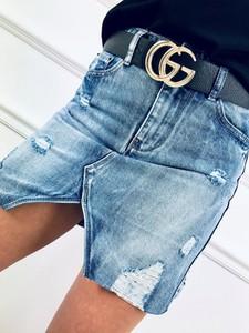 Spódnica Kenza.pl z jeansu w stylu casual