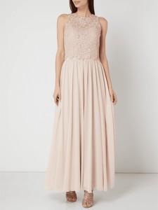 Sukienka Unique maxi w stylu glamour