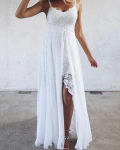 Sukienka Kendallme z szyfonu w stylu boho