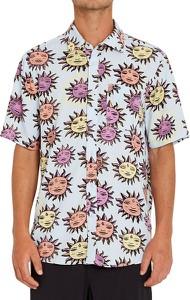 Koszula Volcom z nadrukiem z krótkim rękawem w młodzieżowym stylu