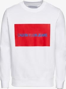 Bluza Calvin Klein z dresówki w sportowym stylu