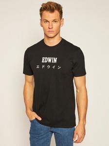 T-shirt Edwin w młodzieżowym stylu