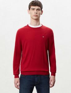 Czerwony sweter Napapijri