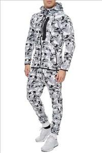 Dres Moda Dla Ciebie z dresówki w militarnym stylu
