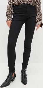 Czarne spodnie Reserved w stylu casual