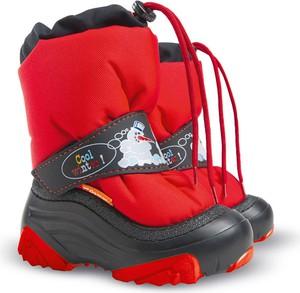 Buty dziecięce zimowe Demar na rzepy