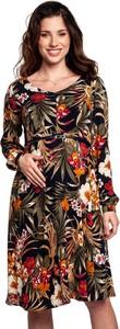 Torelle Sukienka ciążowa w modne printy Rachel