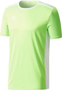 Zielona koszulka dziecięca Adidas Teamwear