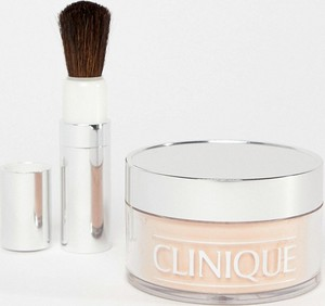 Clinique Blended Face Powder & Brush – Puder sypki z pędzlem 35 g-Biały