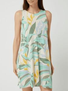 Sukienka S.Oliver w stylu casual z okrągłym dekoltem prosta
