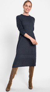 Sukienka Olsen w stylu casual z długim rękawem