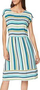 Sukienka amazon.de z okrągłym dekoltem midi w stylu casual