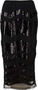 Spódnica Twinset w stylu glamour midi z tkaniny