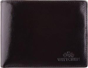 Granatowy portfel męski Wittchen ze skóry