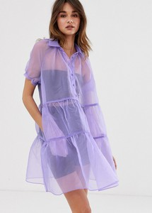 Fioletowa sukienka 2nd Day