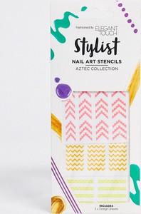 Elegant Touch – Stylist – Kalki do zdobienia paznokci – Aztec Collection-Wielokolorowy