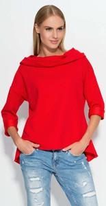 Czerwona bluza Makadamia
