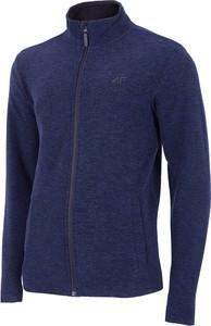 Niebieska bluza 4F z plaru