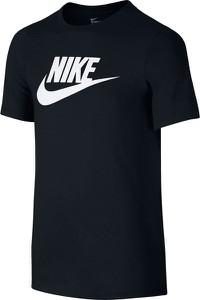 Czarna koszulka dziecięca Nike z dzianiny