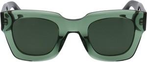 Zielone okulary damskie Givenchy