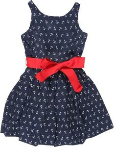 Sukienka dziewczęca POLO RALPH LAUREN z tkaniny