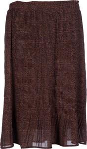 Brązowa spódnica Tigha midi