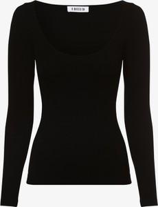 Czarna bluzka EDITED w stylu casual z długim rękawem