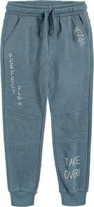 Niebieskie spodnie dziecięce Cool Club dla chłopców
