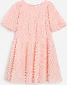 Sukienka dziewczęca Reserved z tkaniny