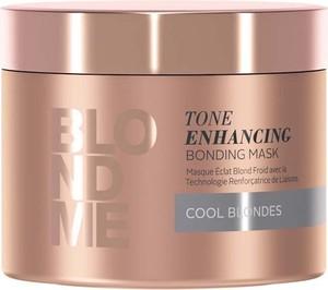 Schwarzkopf Blond Me Tone Enhancing Cool Blondes   Wzmacniająca maska do zimnych odcieni blondu 200ml - Wysyłka w 24H!