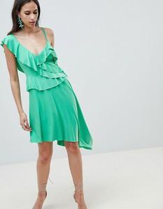 Sukienka Asos Design mini asymetryczna
