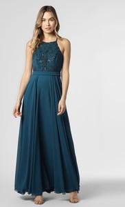 Sukienka Marie Lund bez rękawów z szyfonu
