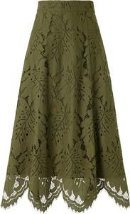 Zielona spódnica Ivy & Oak midi