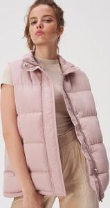 Różowa kamizelka Sinsay w stylu casual