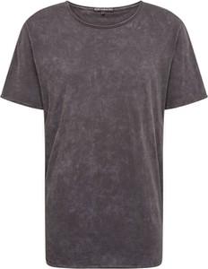 Brązowy t-shirt Drykorn z krótkim rękawem z dżerseju