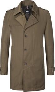 Zielony płaszcz męski Strellson