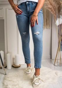 Jeansy Fason z jeansu w stylu casual