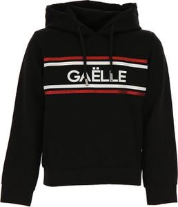 Czarna bluza dziecięca Gaelle z jedwabiu