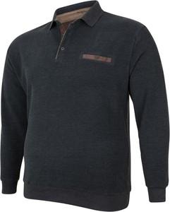 Czarna bluza Bigsize