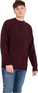 Czerwony sweter Howlin By Morrison w stylu casual