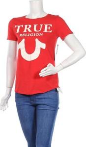 T-shirt True Religion z okrągłym dekoltem z krótkim rękawem