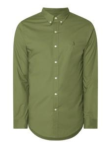 Zielona koszula POLO RALPH LAUREN w stylu casual z bawełny z długim rękawem