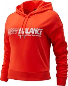 Bluza New Balance w stylu casual krótka