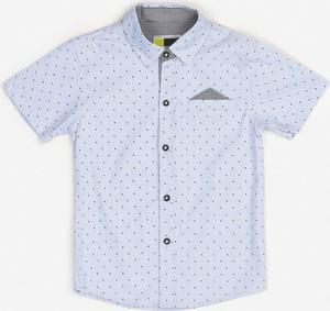 Niebieska koszula dziecięca born2be