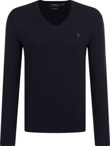 Czarny sweter POLO RALPH LAUREN z bawełny