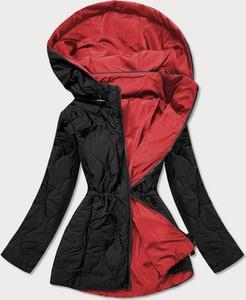 Czerwona kurtka Goodlookin.pl w stylu casual długa