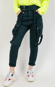 7547bfcd2f spodnie z szelkami damskie - stylowo i modnie z Allani